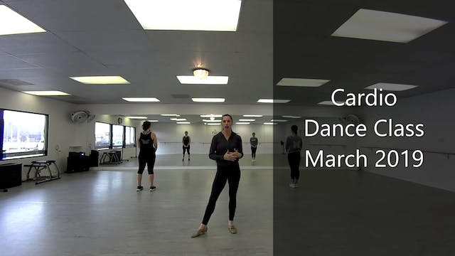 Cardio Dance Class-March 2019