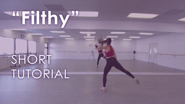 """""""Filthy"""" - Cardio Dance Tutorial and ..."""