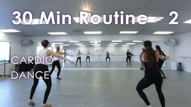 30 Minute Cardio Dance Class- #4