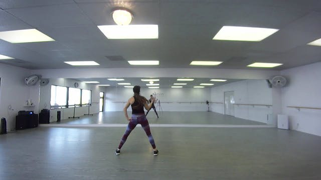 Level 1 Cardio Dance class