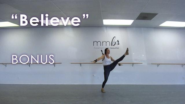"""Believe"" Cardio Dance Routine"