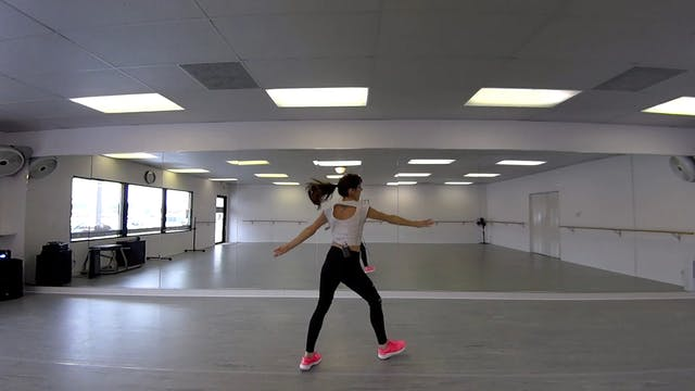 """Heavy"" Cardio Dance Tutorial + Routine"