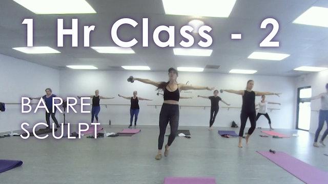 1 Hr Full Class - 2