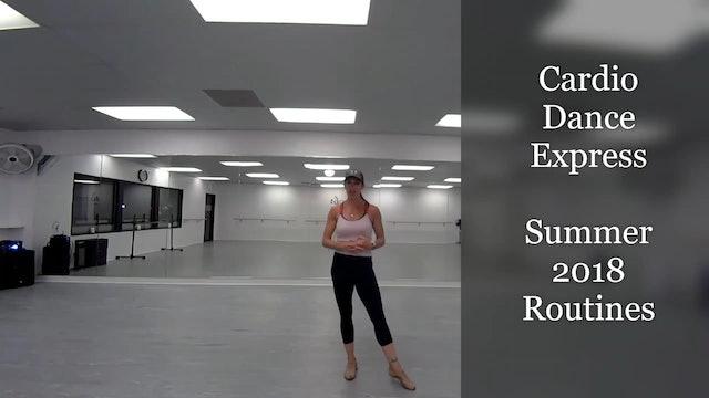 Summer 2018 Cardio Dance Class