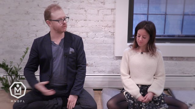 Lodro Rinzler & Ellie Burrows - 22 Minute - Couples Meditation