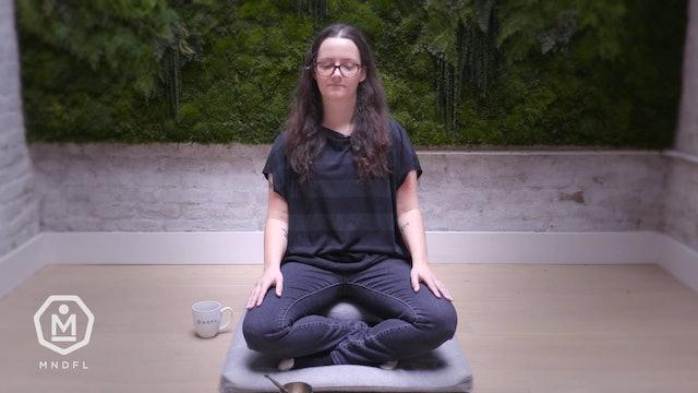 Caroline Contillo - 9 Minute - Mindfulness of Mind and Breath