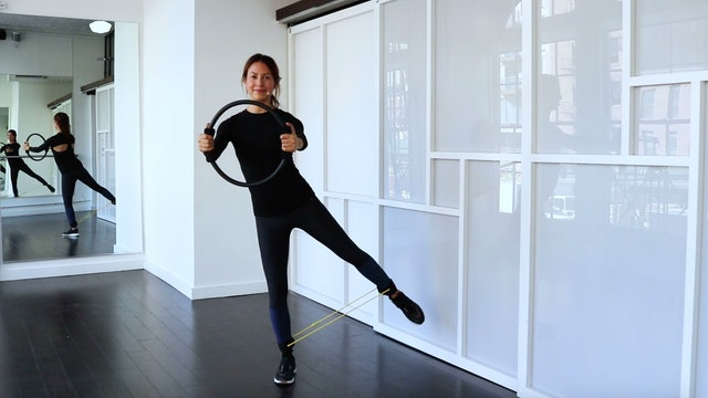 Elongating Standing Leg Series