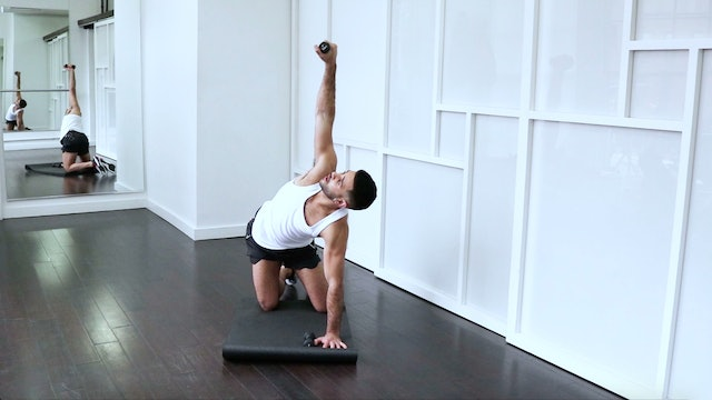NO MUSIC! Mat Work: Arms, Back & Core