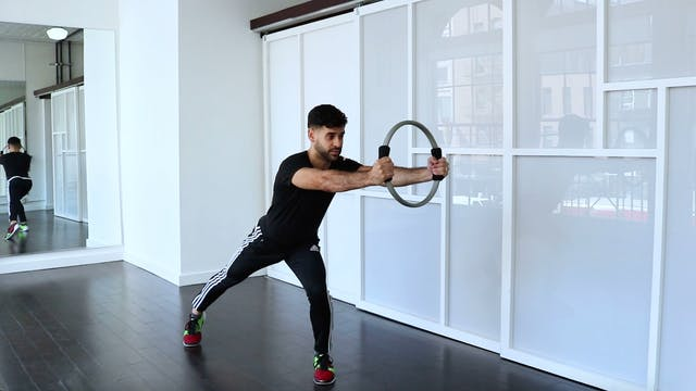 Standing Series with Pilates Ring