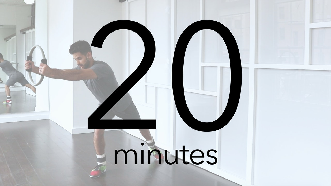I only have 20 minutes!