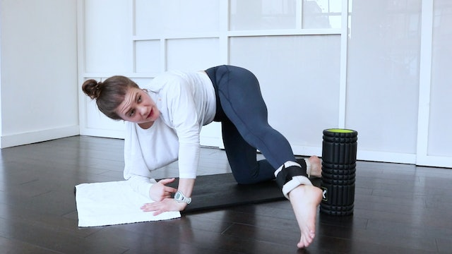Sculpting with The Foam Roller
