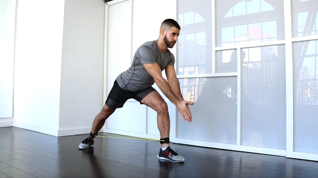 Hips & Legs using the Ankle Band