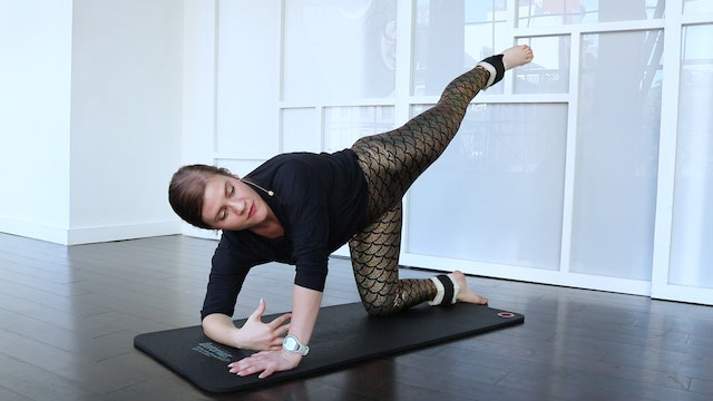 Outer Glutes & Thighs on the Mat!