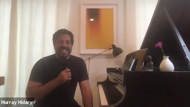 Live Piano Meditation with Murray Hidary