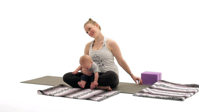 Mom & Baby Yoga: Strength and Hip Movement
