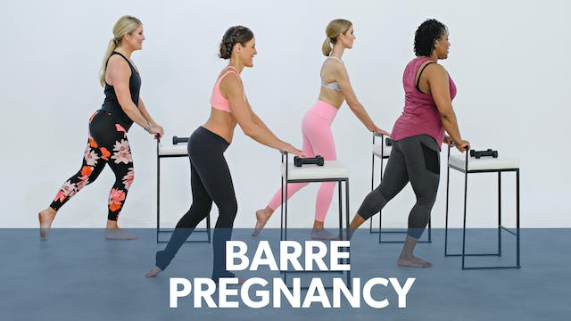 Watch First: Barre during Pregnancy