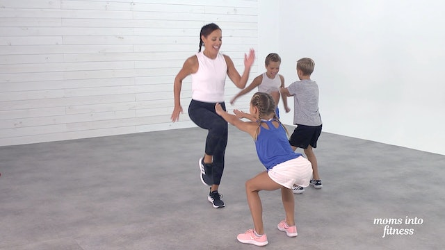 Kids Workout: Partner Fun