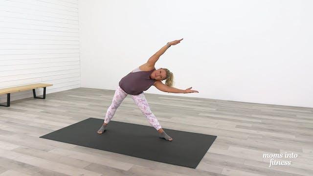 Stretch Day 29: Yoga Flow Triangles