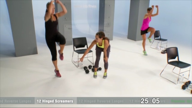 Fierce Lower Body Endurance