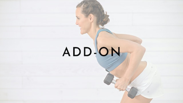 Add-On Sessions (5-10 minute enhancements)