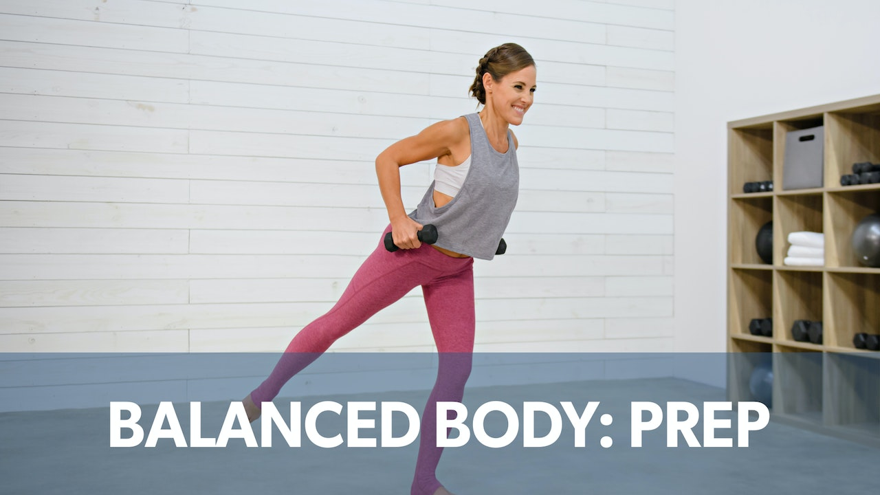 Balanced Body Prep: NEW