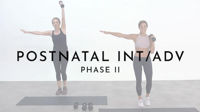Postnatal Intermediate/Advanced: phase 2