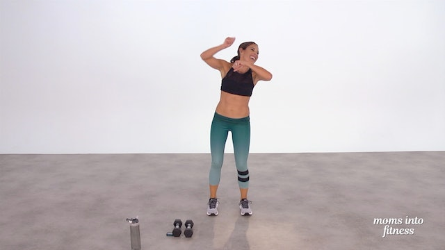 April 19: Daily 15 HIIT Cardio with Weights