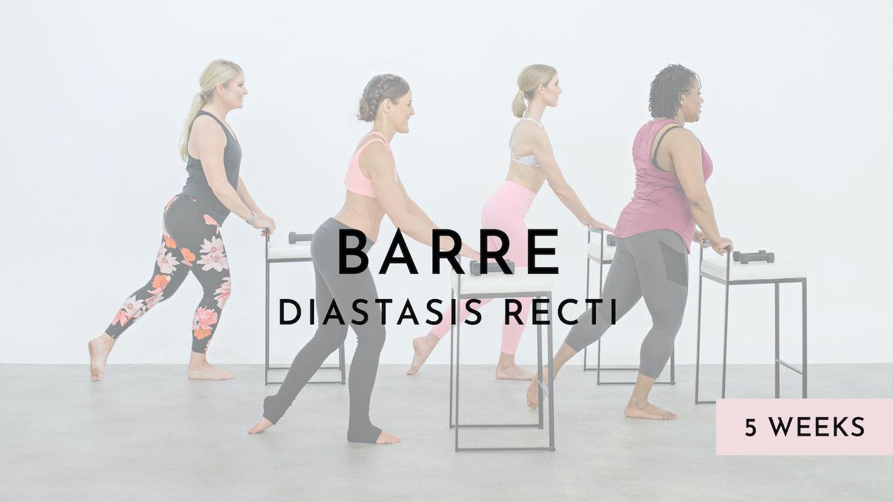 Barre Sport for mild Diastasis Recti