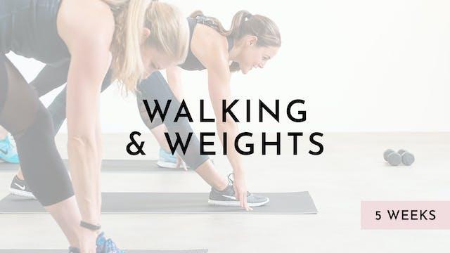 Walking & Weights Rental