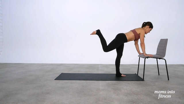 Pregnancy Approved Add On: Barre Glutes