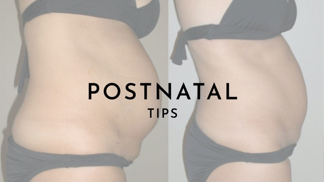 Postnatal Exercise Tips