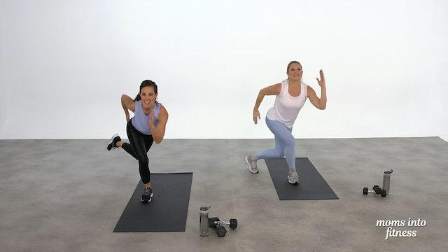 Cardio Buns & Legs HIIT25