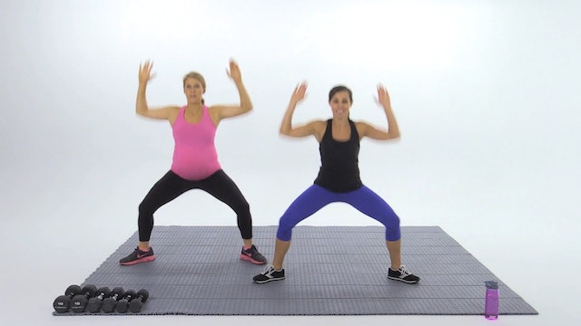 Pregnancy Full Body with Dumbbells