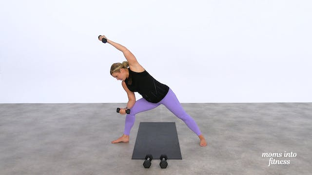 Pregnancy Yoga with Dumbbells