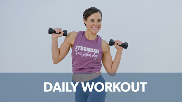 Daily Workout Playlist
