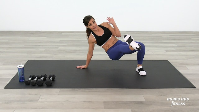 Full Body Dumbbells Circuit D (advanced)
