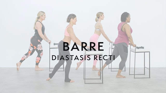 Watch First: Barre Sport with a mild ab separation
