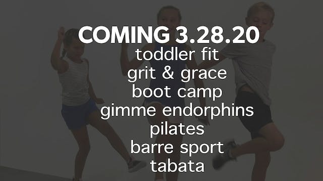 Family + Kids Workouts