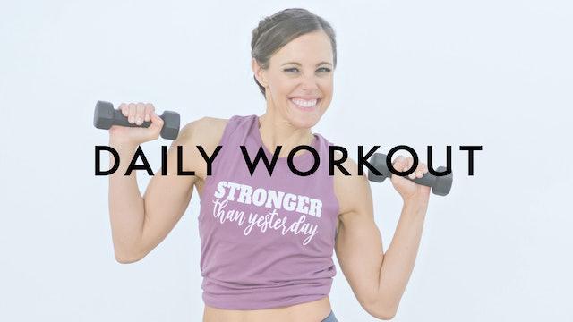 Daily Workout Playlist
