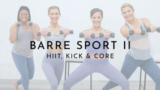 Barre Sport 2: Watch First