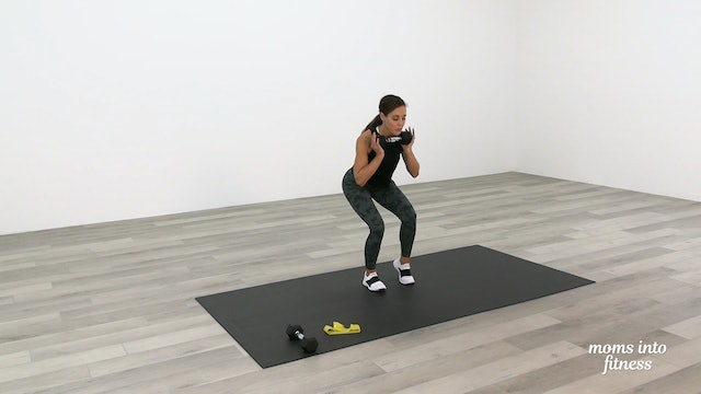 Pregnancy Lower Body Dumbbells