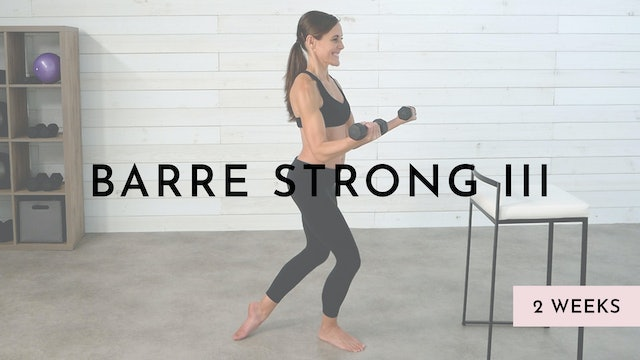 Barre Strong 3