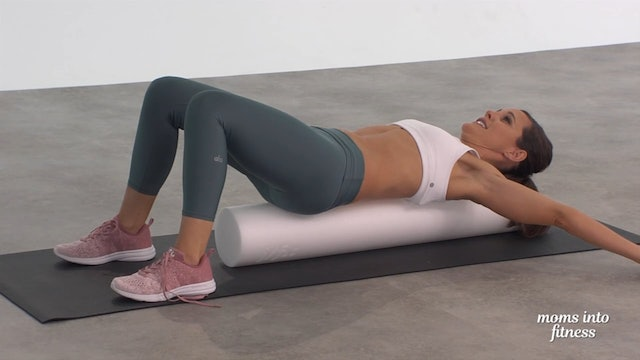 Running Foam Roll Stretch