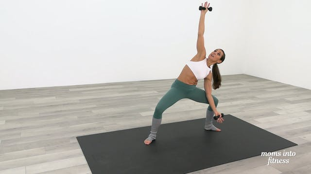 Express Cardio Barre Abs