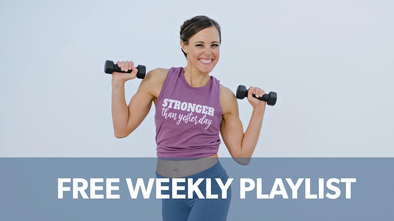 Free Weekly Playlist