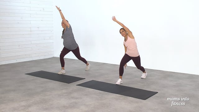 Pregnancy Core Work & Stretch