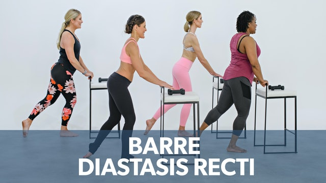 Barre Sport: for mild Diastasis Recti