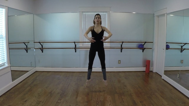 Elite Endurance Barre Jump Sequence #1
