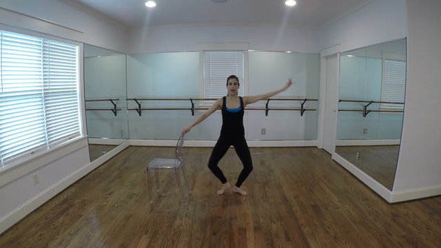 Elite Endurance Barre Outer Thighs