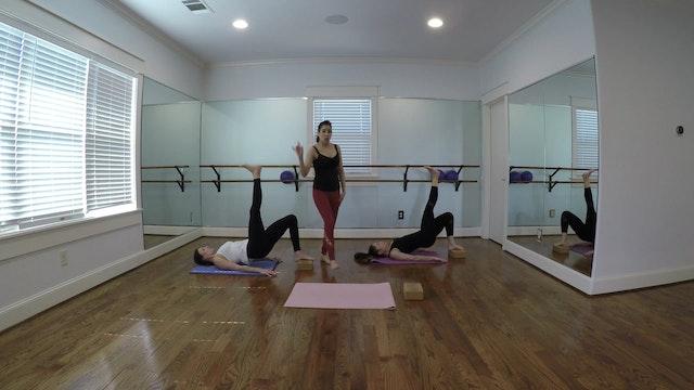 New!  Lower Body/ Feet on Yoga Block